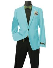 Aqua Mens Solid Sports Coats