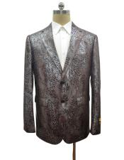 Alligator Ostrich looking Python Snakeskin Print Snake Jacket For