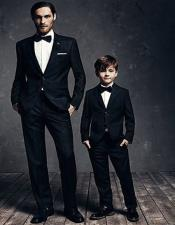 Father ~ Dad And Son Matching Suits Perfect For