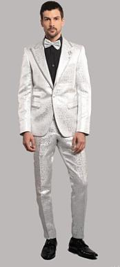 GiovanniTestIWhiteTuxedoSuitJacketAndPants