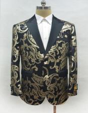 Mens Single Breasted Two Button Blazer