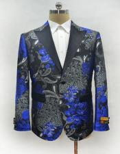 Mens Single Breasted Royal Blazer