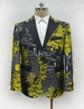 Unique Mens Casual Print Fashion Printed