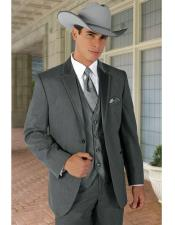 Single Breasted Perfect For Wedding Cowboy Suit