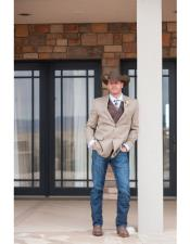 Two Closure Cowboy Tuxedo Attire Western Outfit