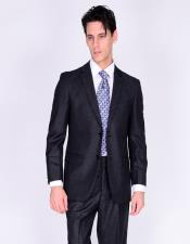Suit Solid Gray