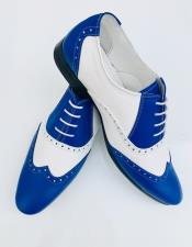 Nardoni Leather Upper Two Toned Wing Tip ~ Wingtip
