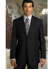 Black Discounted Cheap Priced Mens Suits