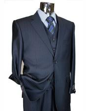 Athletic Cut Mens Classic Suits Relax