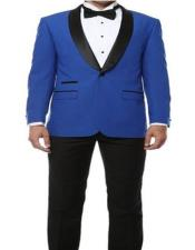 Mens Royal Blue Suit For Men Perfect  Prom