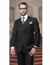 Mens Classic Suits Relax Fit Pleated Pants 19 Inch