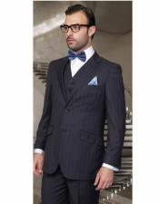 Cut Classic Suits Mens suit Navy Classic Relax Fit