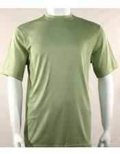 Neck Shirts For Men Mint