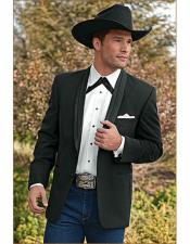 Cowboy Suit Jacket perfect for wedding Gray