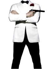 Button Closure James Bond Tuxedo