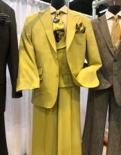 Apollo King Suit Yellow