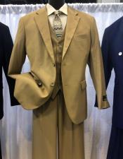Apollo King Suit Tan