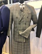 Apollo King Suit Light Brown Plaid