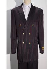Mens Double Breasted Peak lapel Blazer