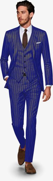 1920s 1940s Mens Gatsby Vintage Wool Suit For Sale