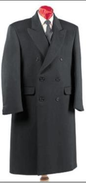 Nardoni Authentic Fully Lined Double Breasted Mens Dress Coat