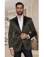 polka dot pattern Fancy Fashion Black