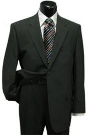 Suit Separates Wool Fabric Black Vest By Alberto Nardoni