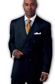 Mens Suit Separates Wool Fabric Navy
