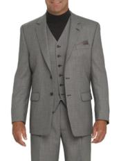 Suit Separates Wool Fabric Gray Suit By Alberto Nardoni