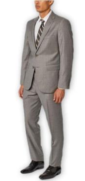 Suit Separates Wool Fabric Grey Suit By Alberto Nardoni