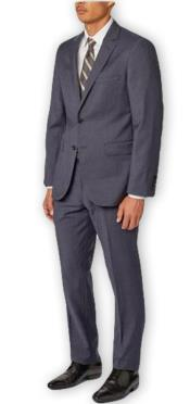 Navy Four Button Cuff Double Vent Fully Lined Suit