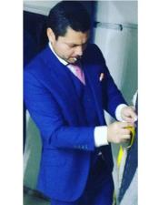 Suit Separates Royal Blue Suit By Alberto Nardoni Brand
