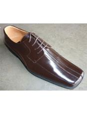Mens Leather Dress Shoe In White