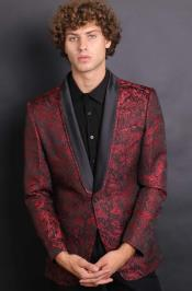 Maroon One Chest Pocket Cheap Priced Casual Blazer