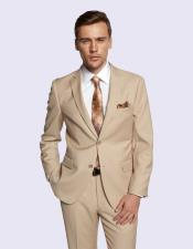 Fiorelli Men's New Beige Suit