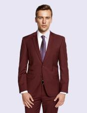 Burgandy Suit For Men's