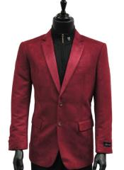 Men Cranberry Wine Micro Suede 2