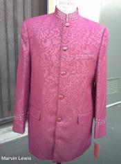 Fashion Navy Blue Polka dot Blazer Sport Coat +
