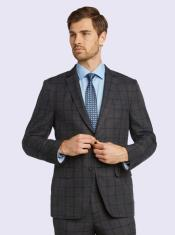 Bertolini Silk & Wool Fabric Men's