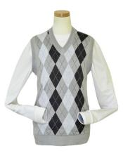 V-Neck Sweater Vest In