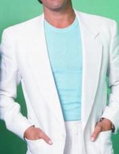 Johnson Miami Vice White
