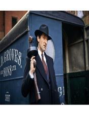 Peaky Blinders Custome DB Style Overcoat