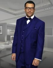 Mens Dark Navy 3 piece executive