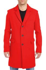 Mens Big and Tall Peacoat ~