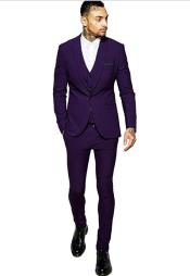 Slim Vested Suit