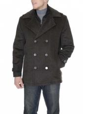 MensDressCoatBrown6-On-3Overcoat~TopcoatTweedHoundstooth