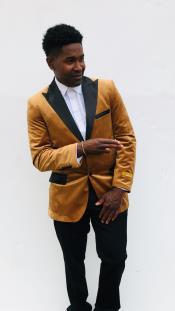 Mens Blazers Rust ~ Copper Light