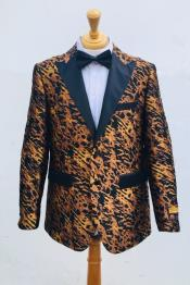 Mens Blazer Yellow ~ Black