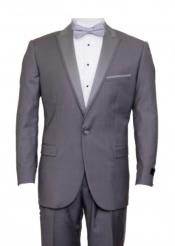 Suit For Boy / Guys Mid Gray