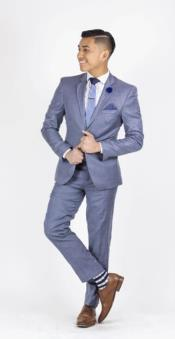 Suit For boy / Guys Dark Blue